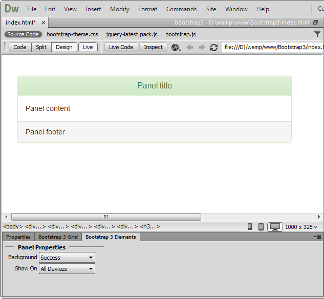 bootstrap tutorial w3schools pdf download