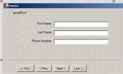 Windows Forms Data Binding - Articles - DMXzone COM