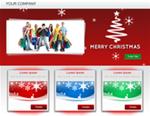 Christmas Landing Page Template