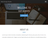 Responsive Web Design Studio Showcase