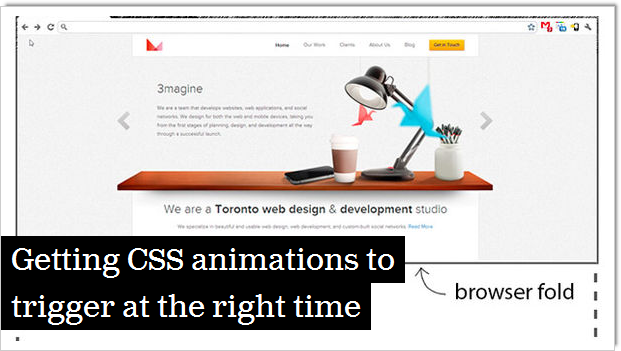 Getting CSS Animations to Trigger at the Right Time - Articles