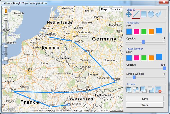 Как сделать свою карту в гугл мапс