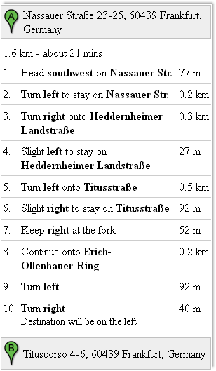 draggable route marker change the directions at any point you want by simply dragging the marker on the map