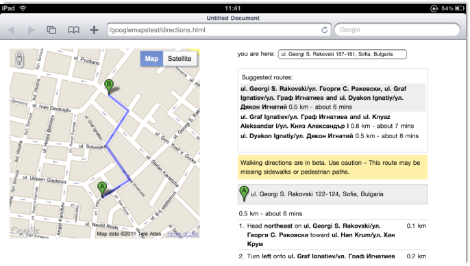 how to add location on google maps directions