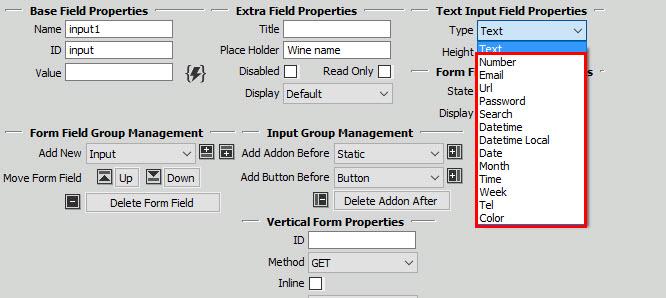 DMXzone Bootstrap 3 Forms Designer