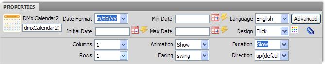 DMXzone Calendar 2