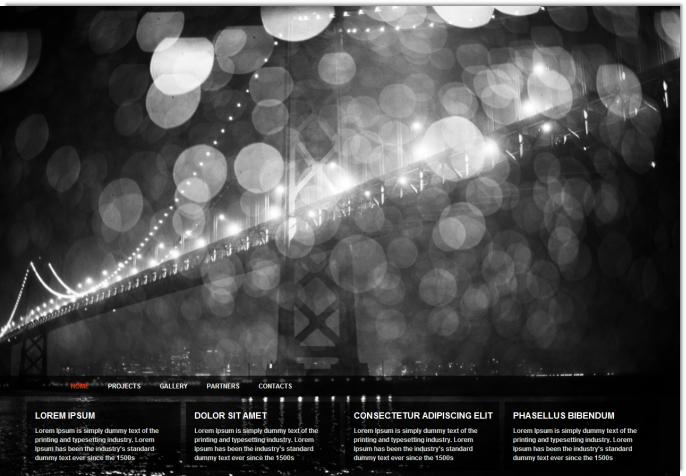 urban photography dreamweaver template dmxzone com