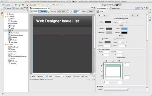 Build an Android App Using Adobe AIR - Articles - DMXzone COM