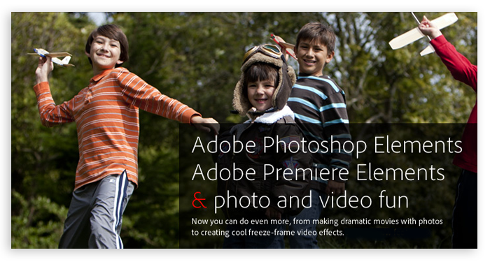 Adobe Releases Photoshop Elements 10 & Adobe Premiere