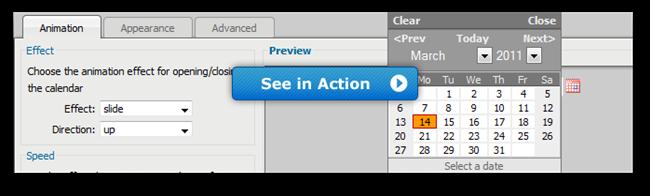DMXzone Calendar - Extensions - DMXzone COM