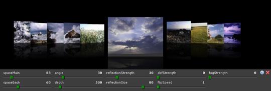 3D ImageFlow Gallery for Dreamweaver