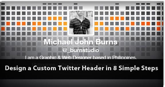 how to make a custom website header
