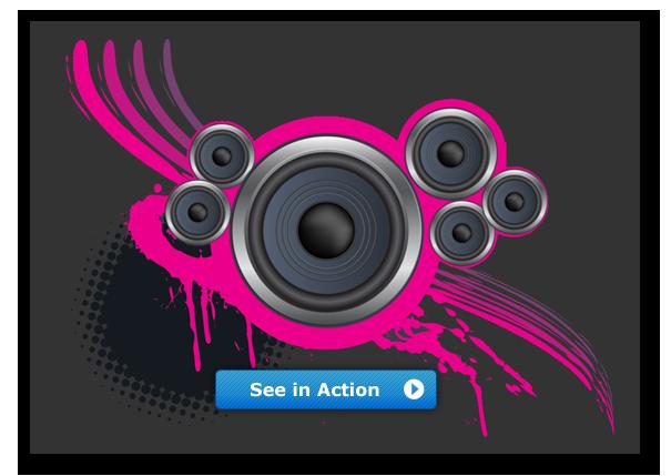 advanced css animator meets html5 mp3 player dmxzone com