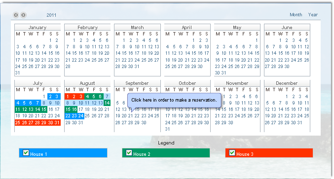Calendar Booking System Php : Event calendar super bundle php extensions dmxzone