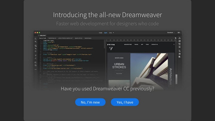 All new adobe dreamweaver cc dmxzone com for Templates for dreamweaver cc