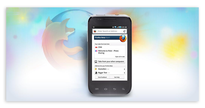 Firefox 5 Beta Lands on Android Market - News - DMXzone COM