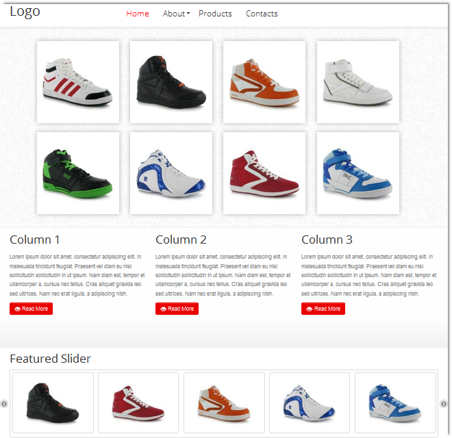 Html5 Product Catalog Template Templates Dmxzone Com