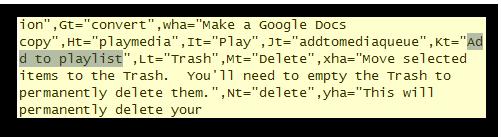 playlist  code