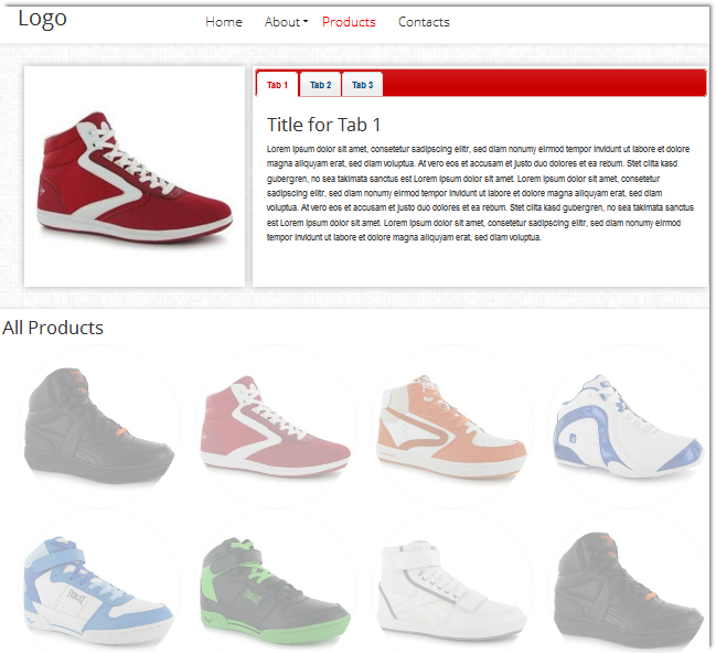 HTML5 Product Catalog Template - Templates - DMXzone.COM