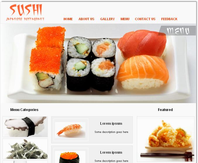 restaurants menu templates free