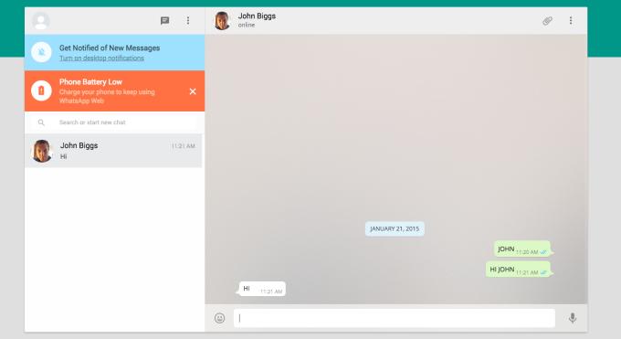 WhatsApp Comes To The Desktop - News - DMXzone COM