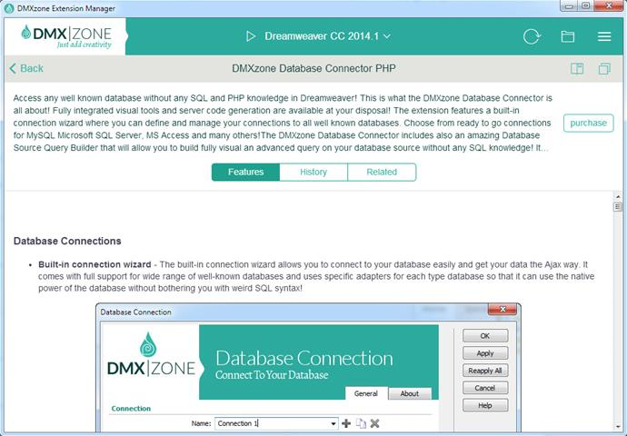 DMXzone Extension Manager for Dreamweaver - Extensions - DMXzone COM