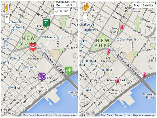 how to add multiple locations on google maps api
