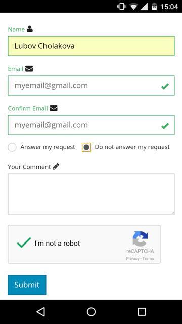 DMXzone reCAPTCHA 2