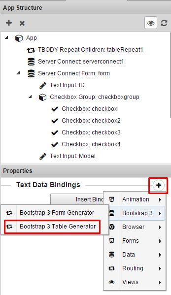 Bootstrap 3 Dynamic Table Generator 2 Extensions Dmxzone