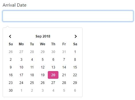 App Connect Date Picker 2