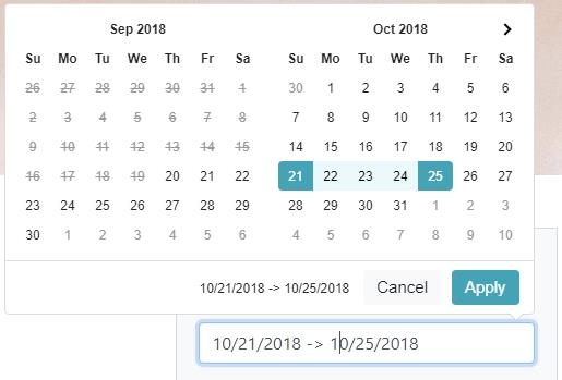 App Connect Date Picker 2 Coming This Week - DMXzone COM